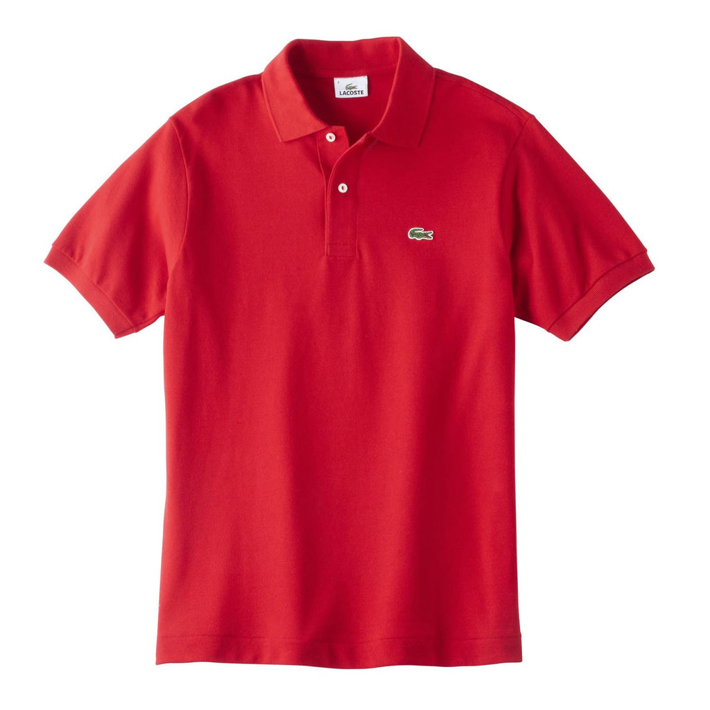 6f7aab247 Lacoste Men's Red S/S Pique Polo