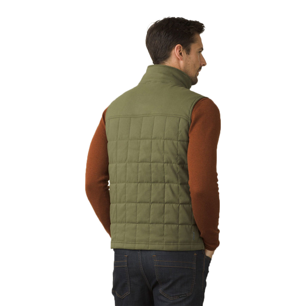 collar button skinny dark little left quilted paired quilt embellished olive winter up img a declaire jeans do with burgundy top i green vest