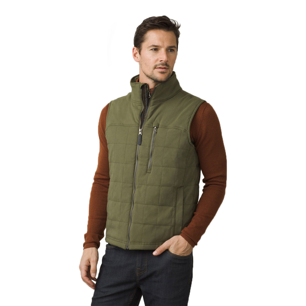 mens buy clothing quilt s army swiss jackets p prevnext green quilted winter vest coats c victorinox men