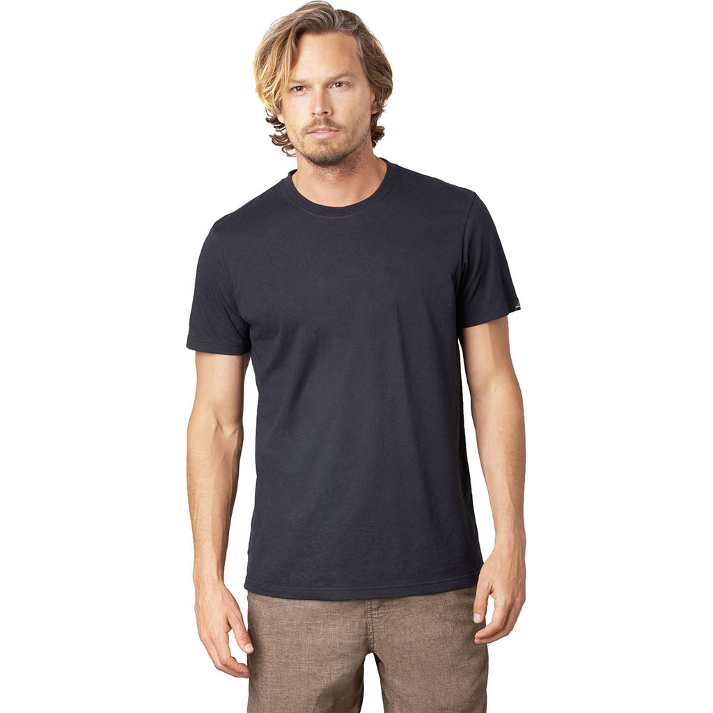 prAna Men's Black Crew T-Shirt