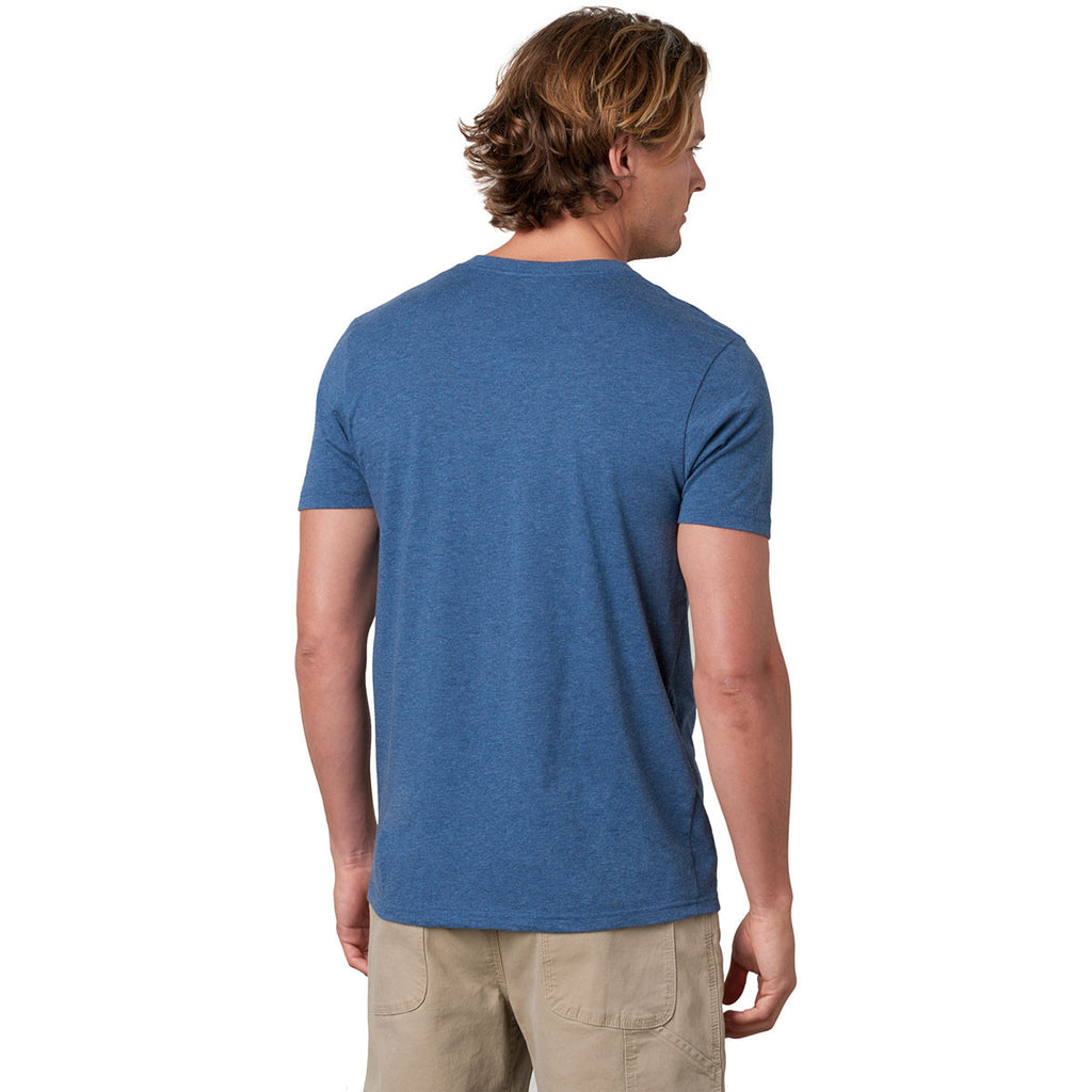 prAna Men's Denim Heather V-Neck T-Shirt