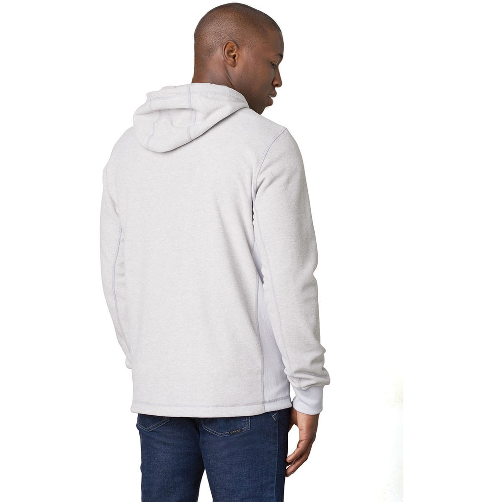 prAna Men's Silver Drey Full Zip