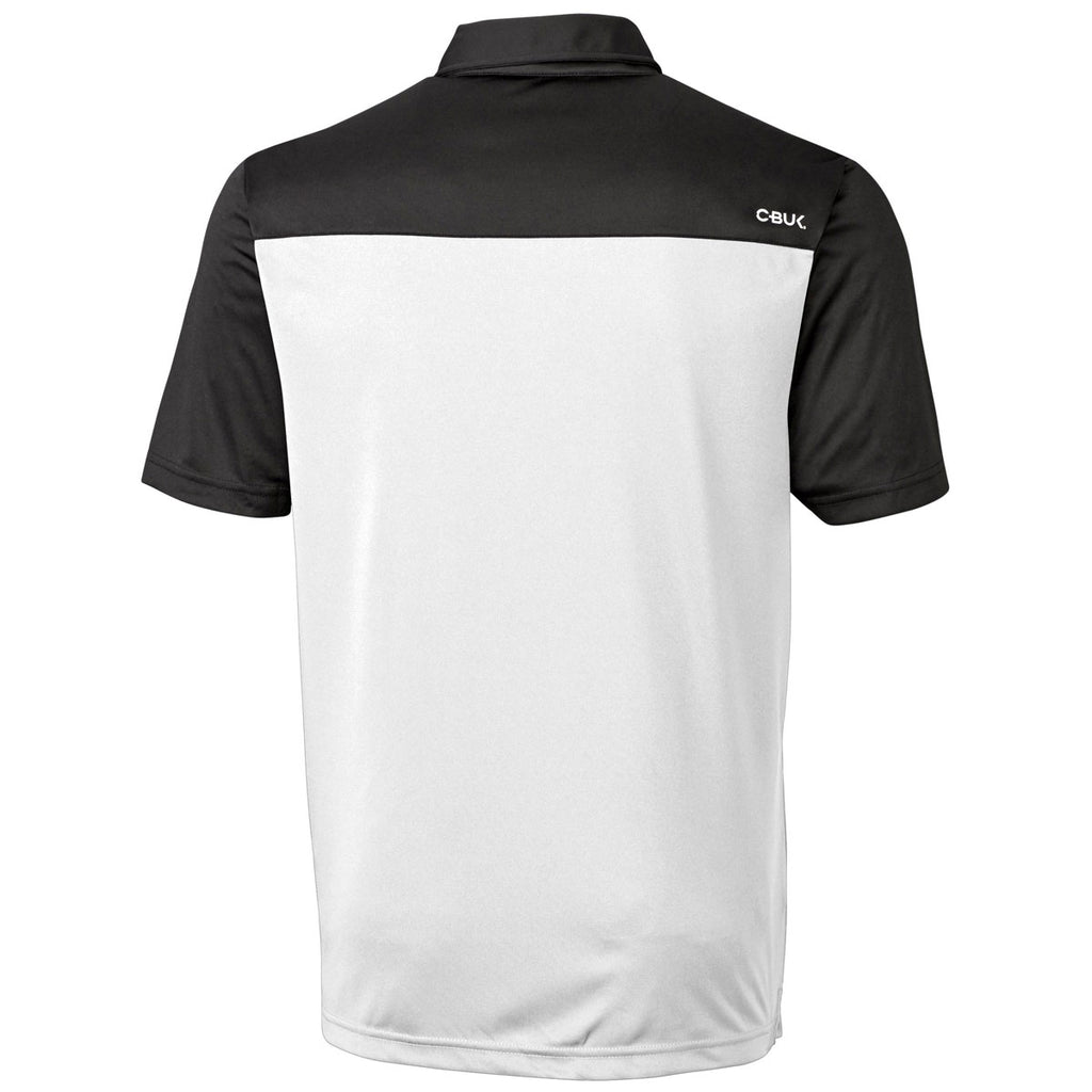 Cutter & Buck Men's Black/White Chambers Polo