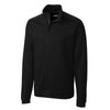 cutter-buck-black-decatur-half-zip
