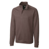 cutter-buck-brown-decatur-half-zip