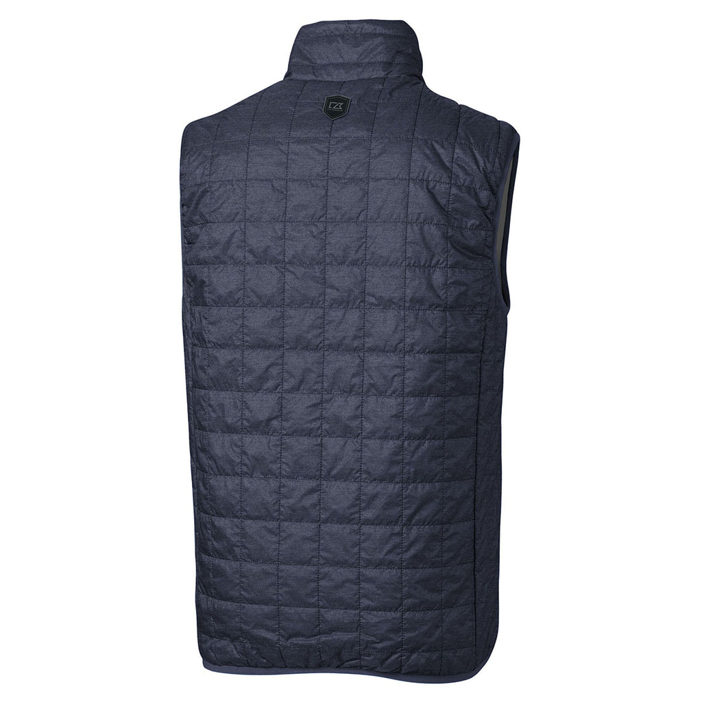 Cutter & Buck Men's Anthracite Melange Rainier Vest