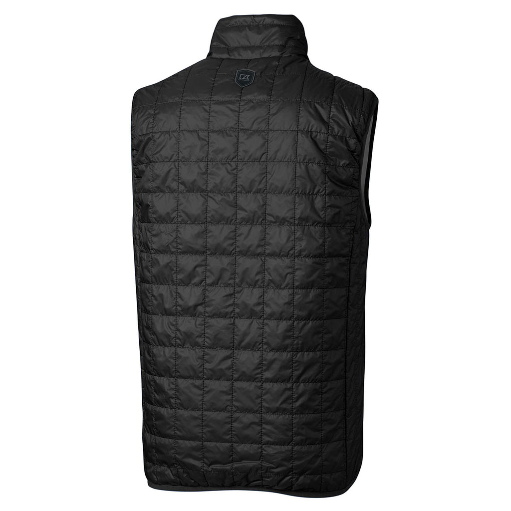 Cutter & Buck Men's Black Rainier Vest