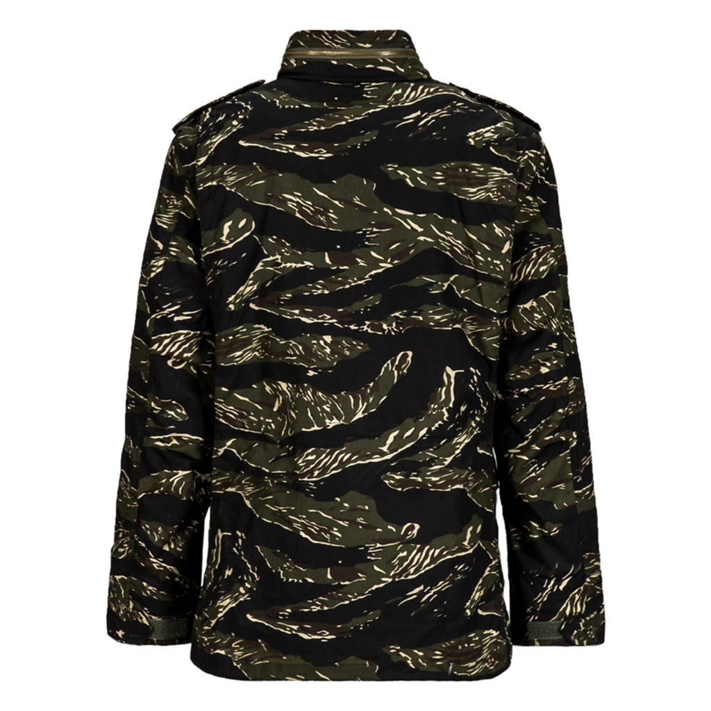 Alpha Industries Men's Tiger Camo Defender WXD Field Coat