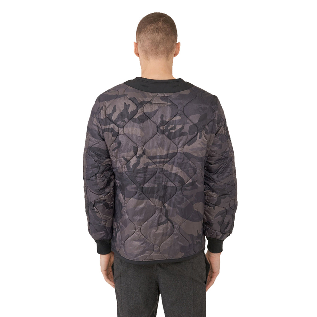 Alpha Industries Men's Black Camo M-65 Defender Liner