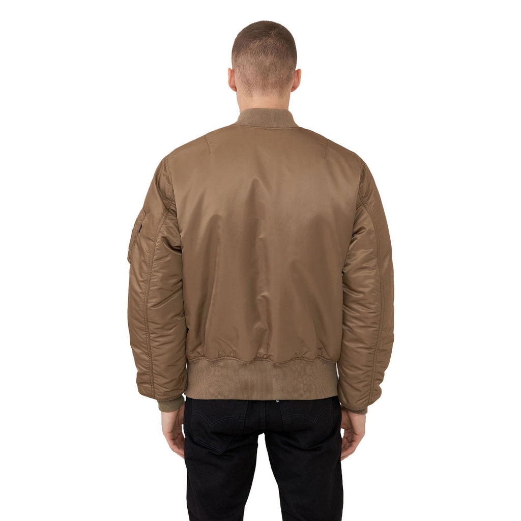Alpha Industries Men's Coyote Brown MA-1 Flight Jacket