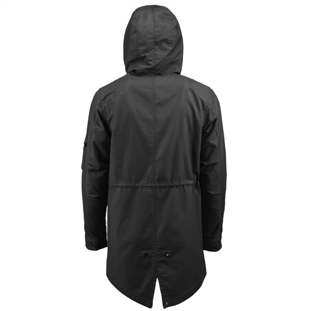 Alpha Industries Fishtail Parka Black