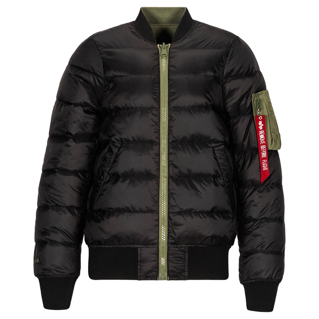 Alpha Industries Men's Sage MA-1 Reversable Down Flight Jacket