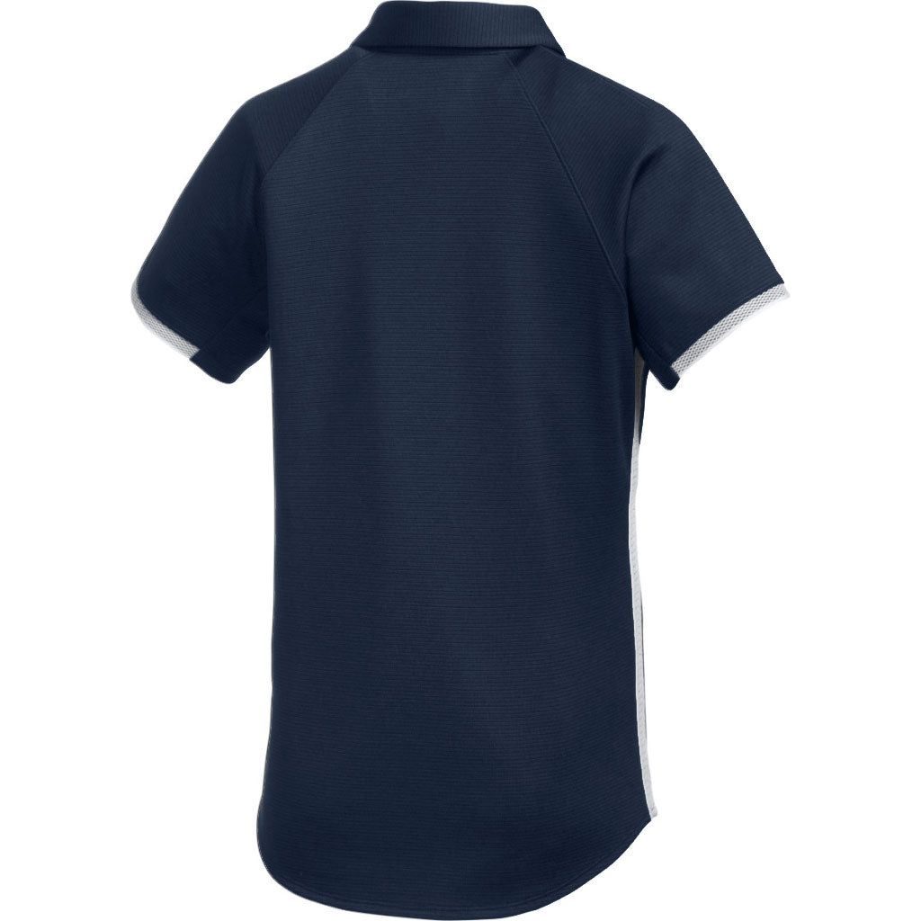 Under Armour Women's Midnight Navy Team Rival Polo