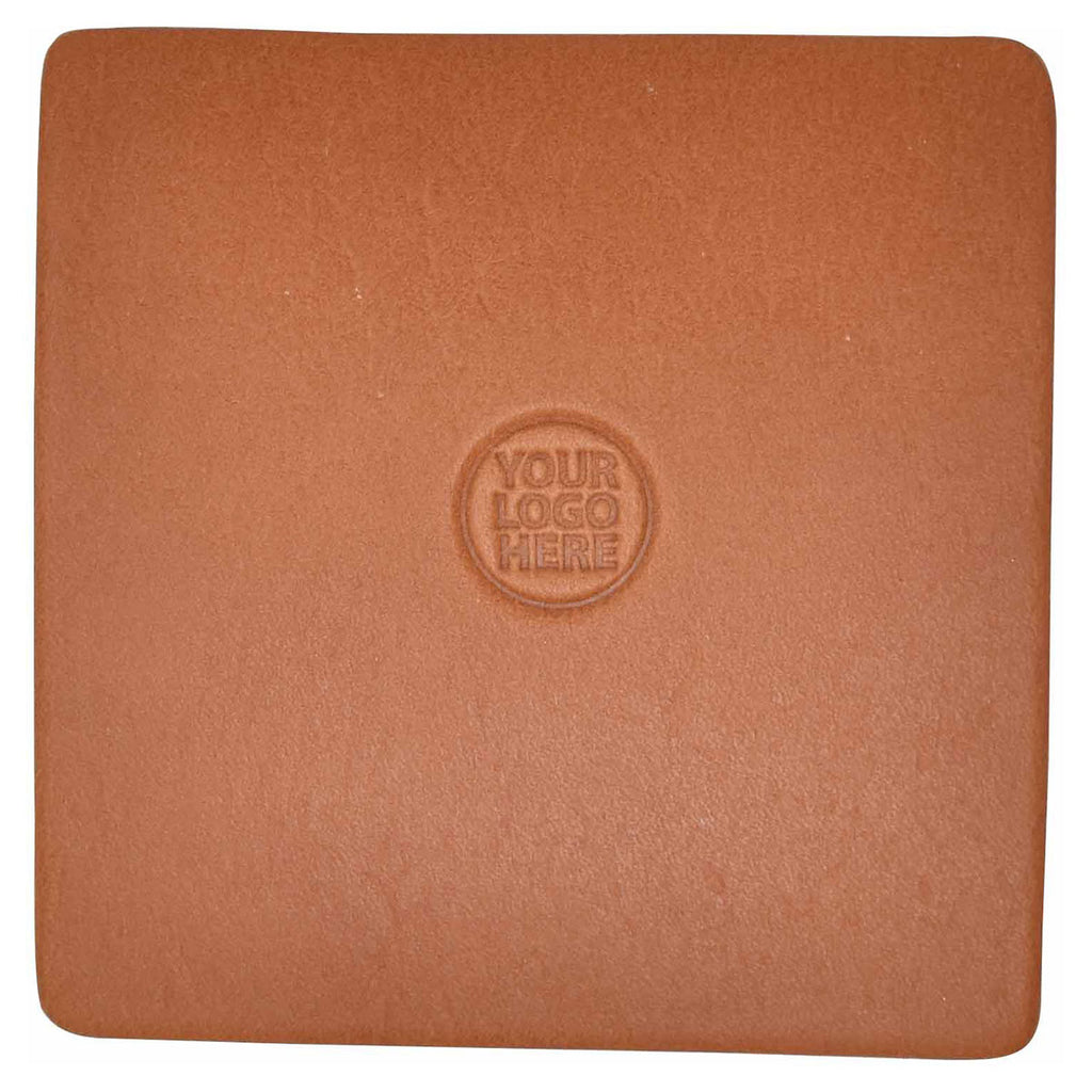 Northwind Supply Tan Personalized Square Coaster