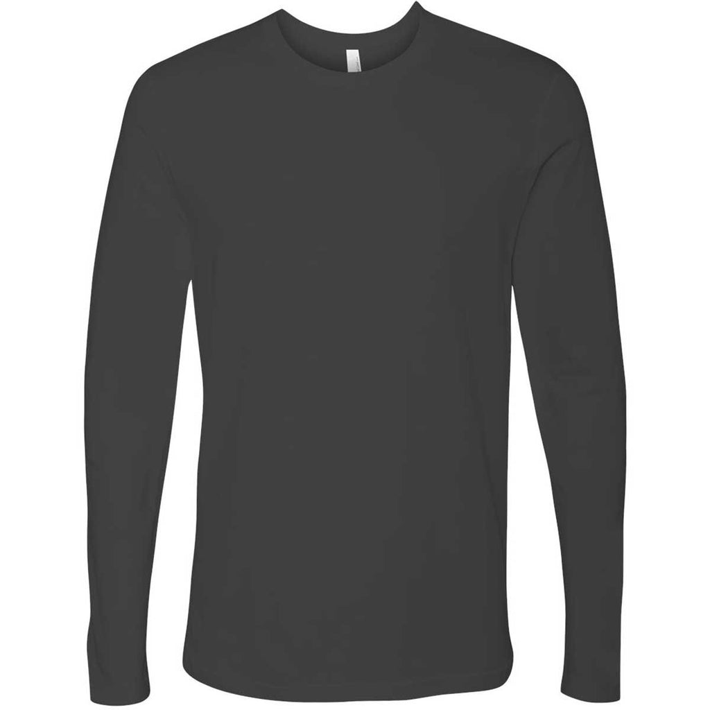 Next Level Men s Heavy Metal Premium Fitted Long-Sleeve Crew Tee. ADD YOUR  LOGO f736e1464cee3