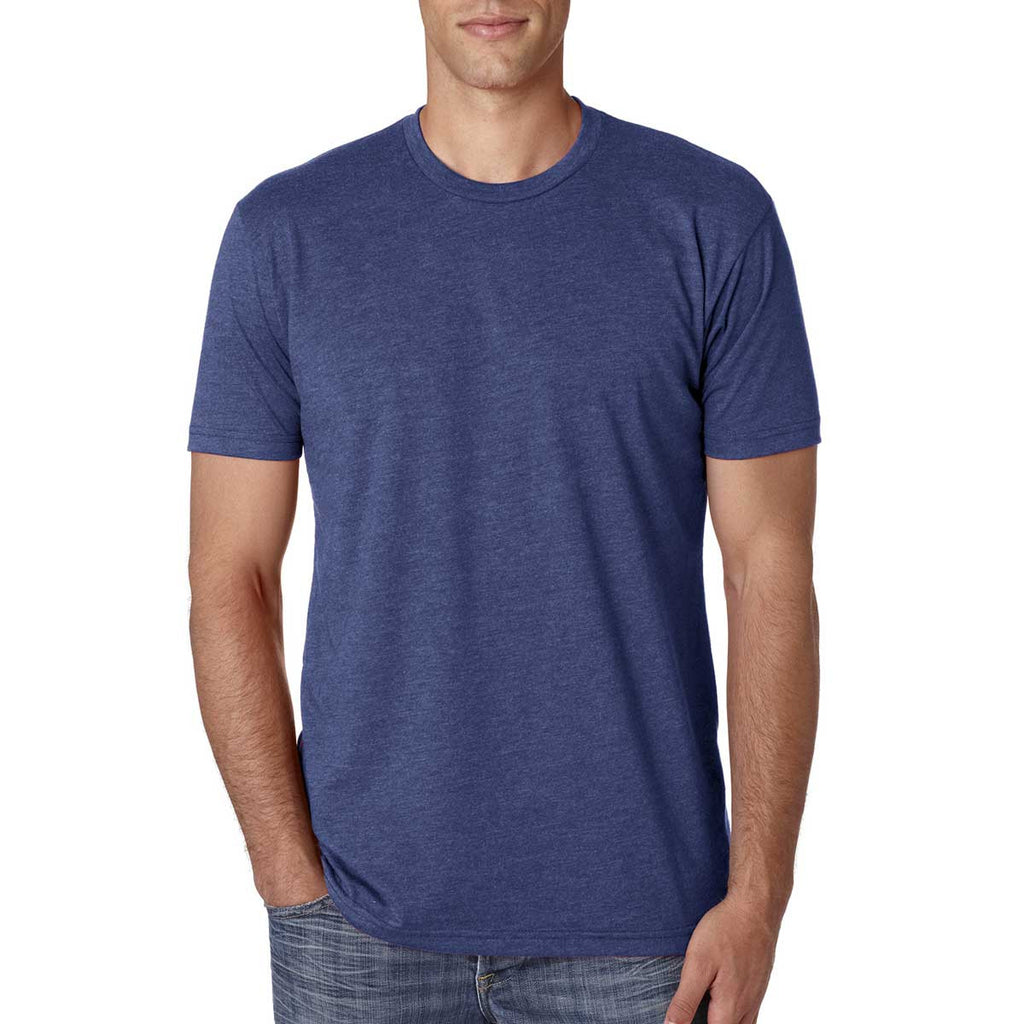 cae142ce Next Level Men's Storm Premium Fitted CVC Crew Tee
