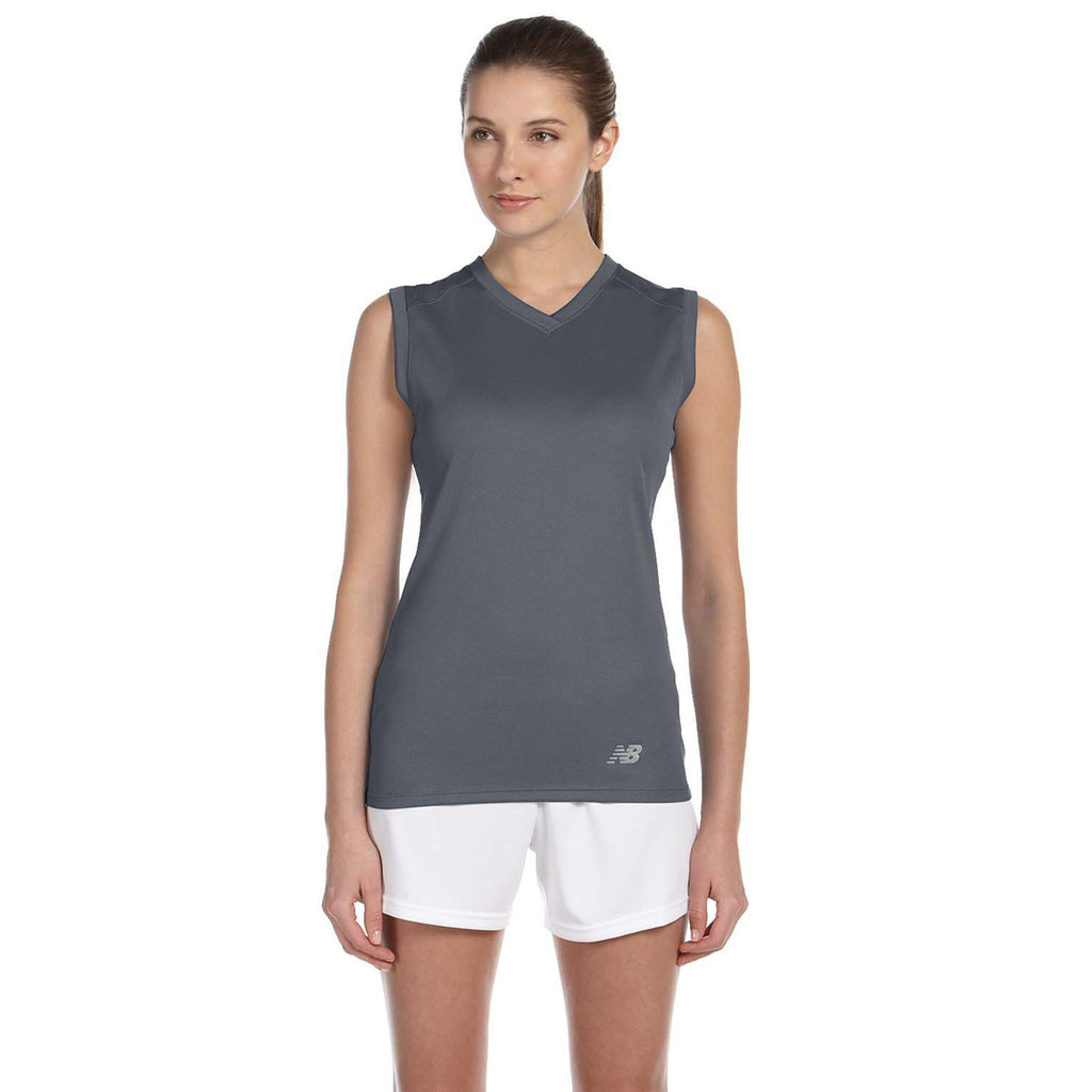 Athletic T Women's Gravel Neck Balance Ndurance Workout V New wyU4gzqcpa