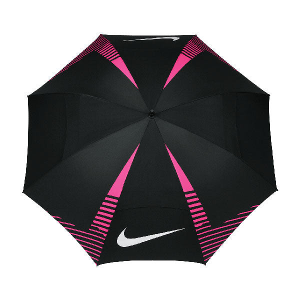 "Nike Black/White/Pink Pow 62"" Windsheer Lite Umbrella"