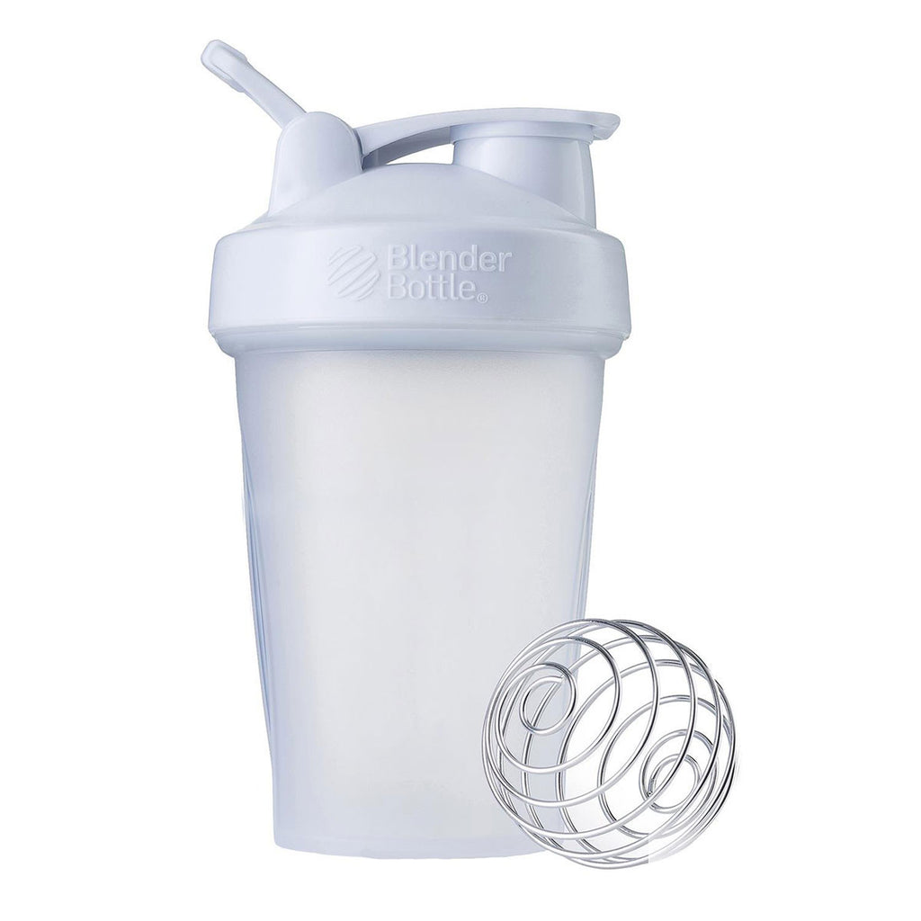 BlenderBottle Clear/White Classic Bottle 20oz