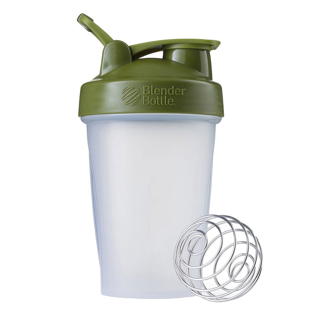 BlenderBottle Clear/Moss Classic Bottle 20oz