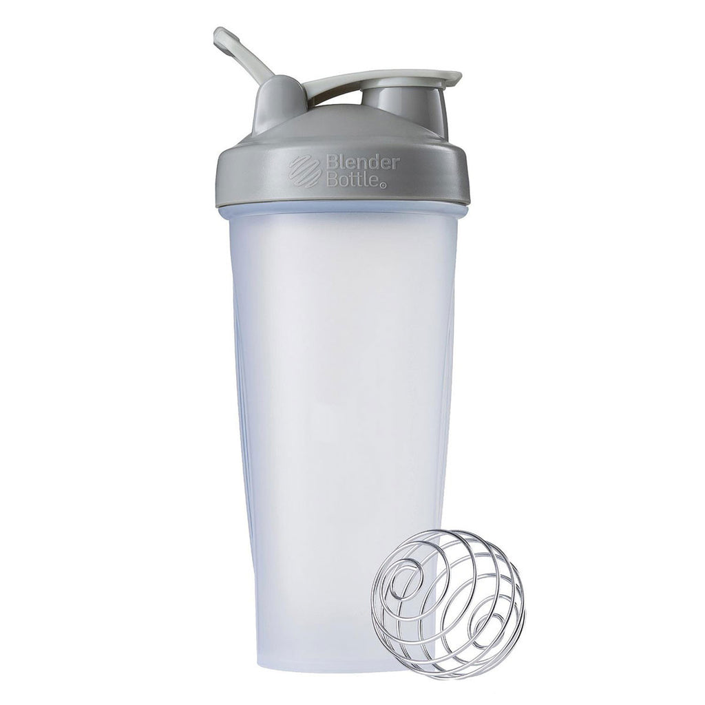 BlenderBottle Clear/Grey Classic Bottle 28oz