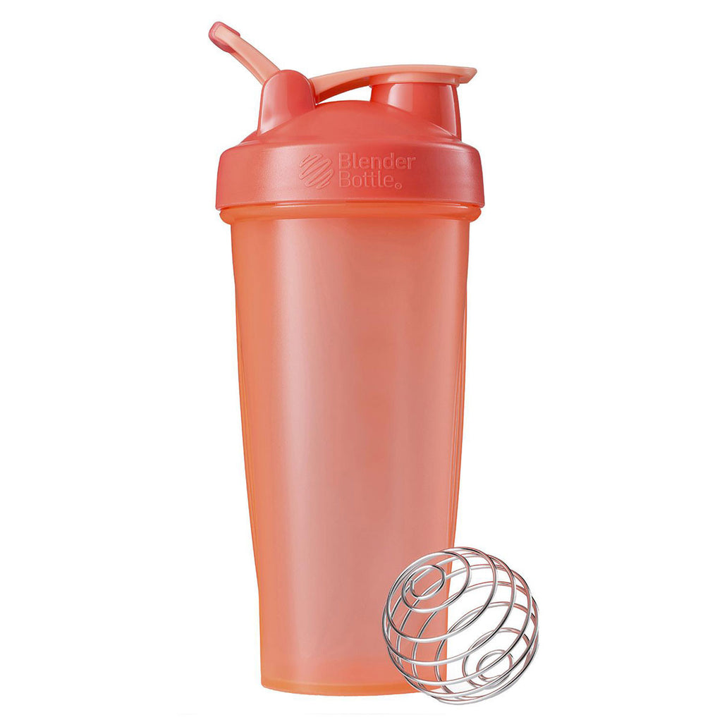 BlenderBottle Coral Classic Bottle 28oz