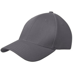 New Era 39THIRTY Graphite Structured Stretch Cotton Cap 4da08a49183