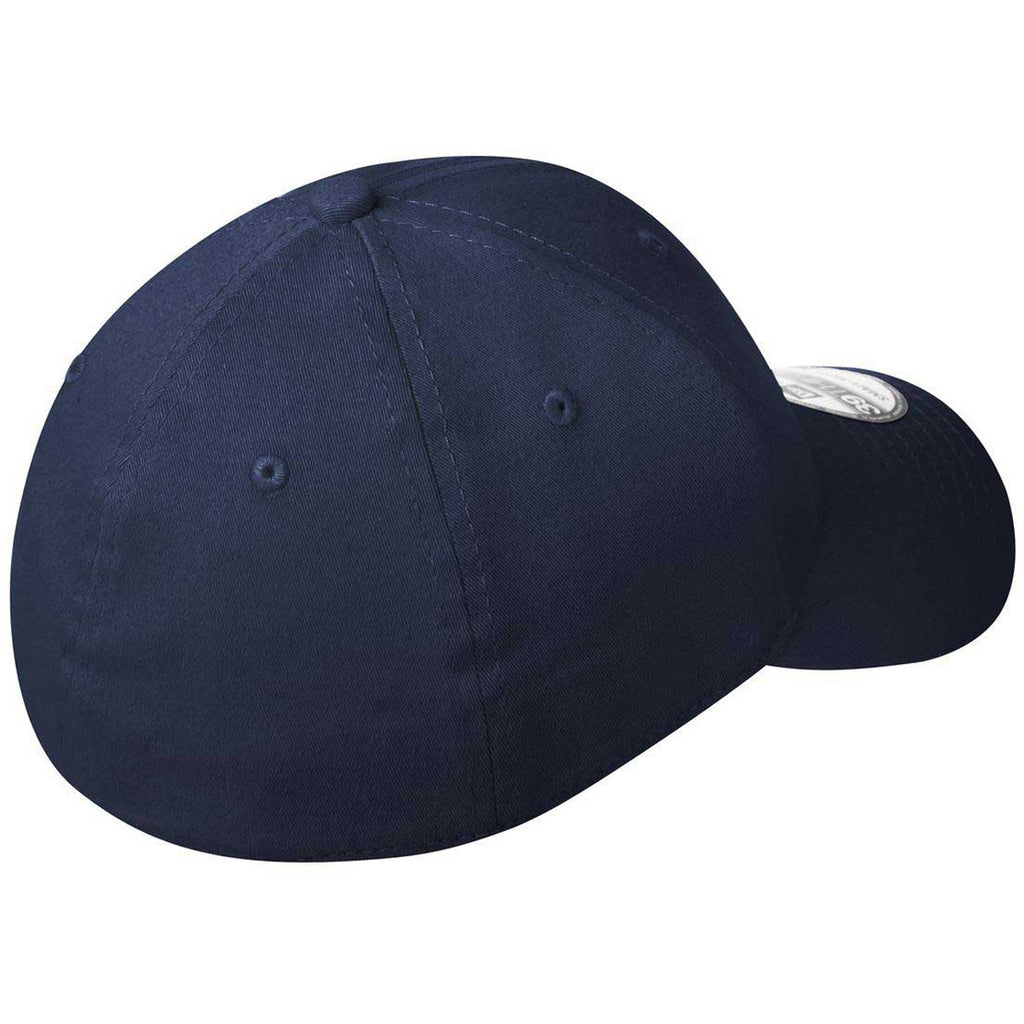 New Era 39THIRTY Deep Navy Structured Stretch Cotton Cap
