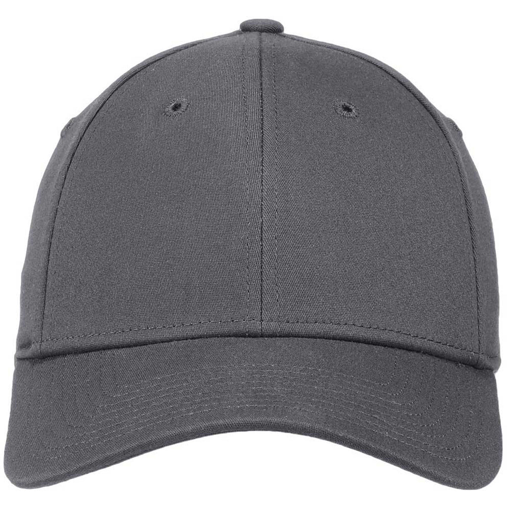 da4c00e6675 New Era 39THIRTY Graphite Structured Stretch Cotton Cap