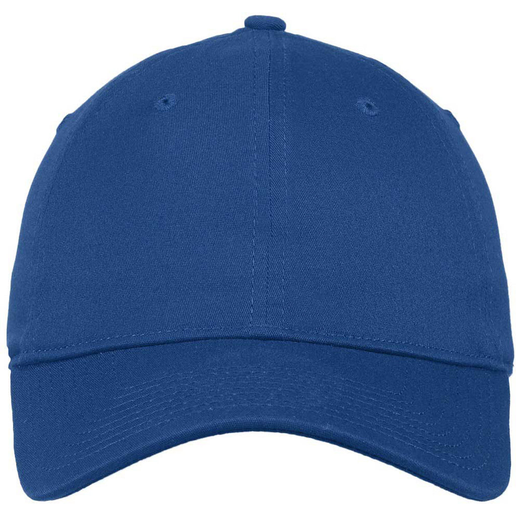 New Era Royal Unstructured Stretch Cotton Cap