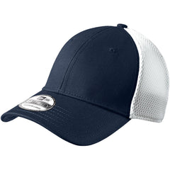 New Era 39THIRTY Deep Navy White Stretch Mesh Cap 52f59e45dc9
