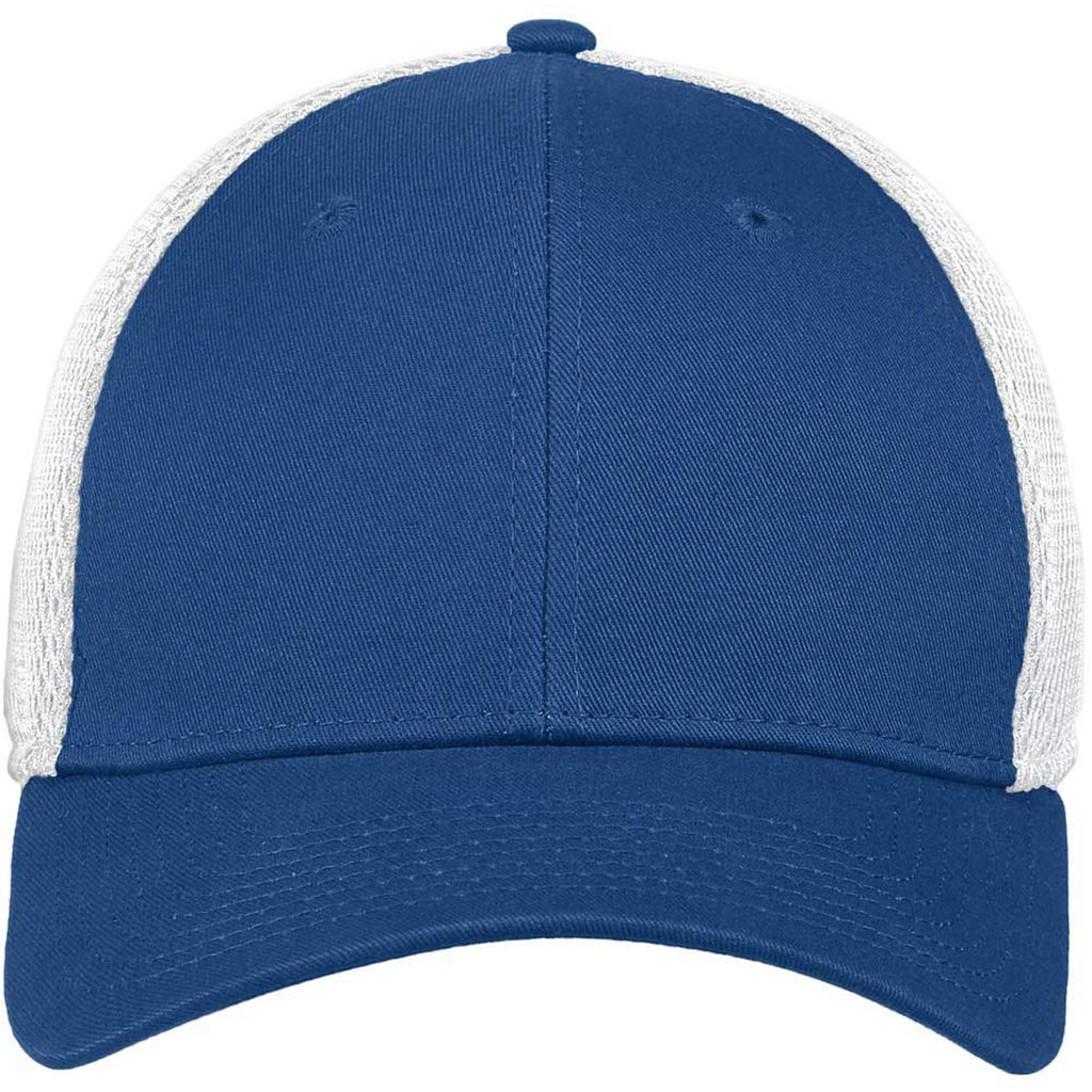 New Era Royal/White Stretch Mesh Cap