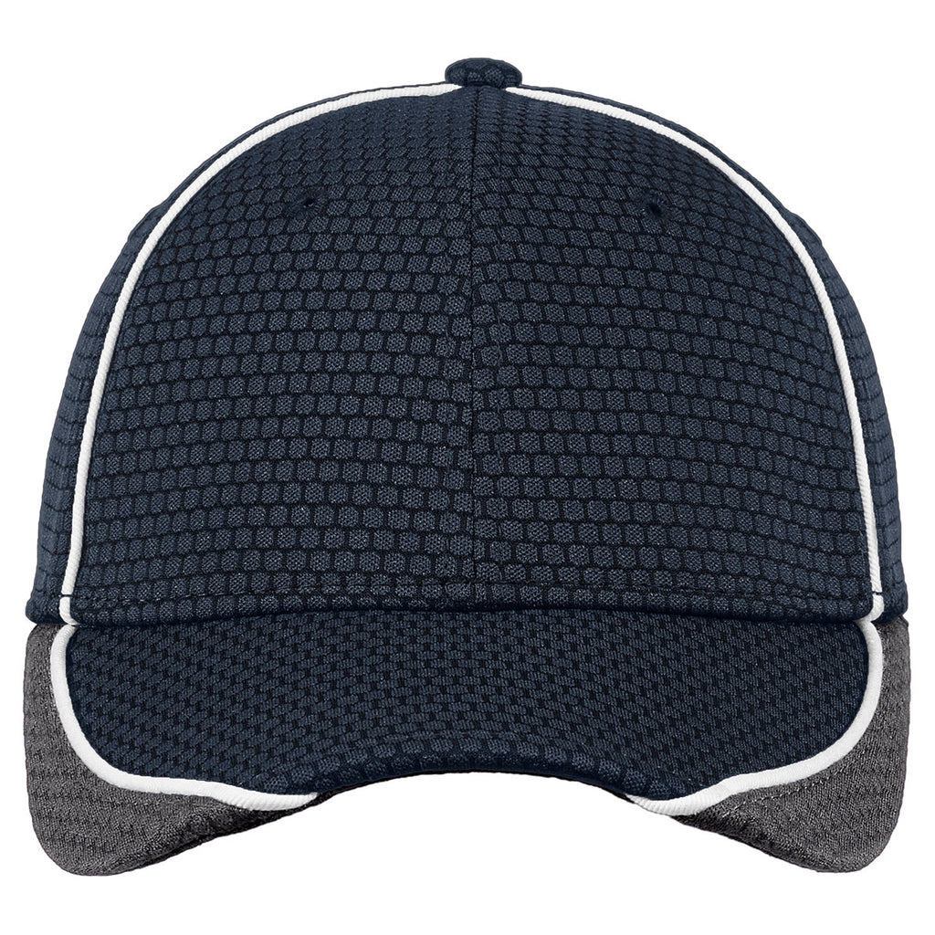 New Era Deep Navy/Graphite/White Hex Mesh Cap