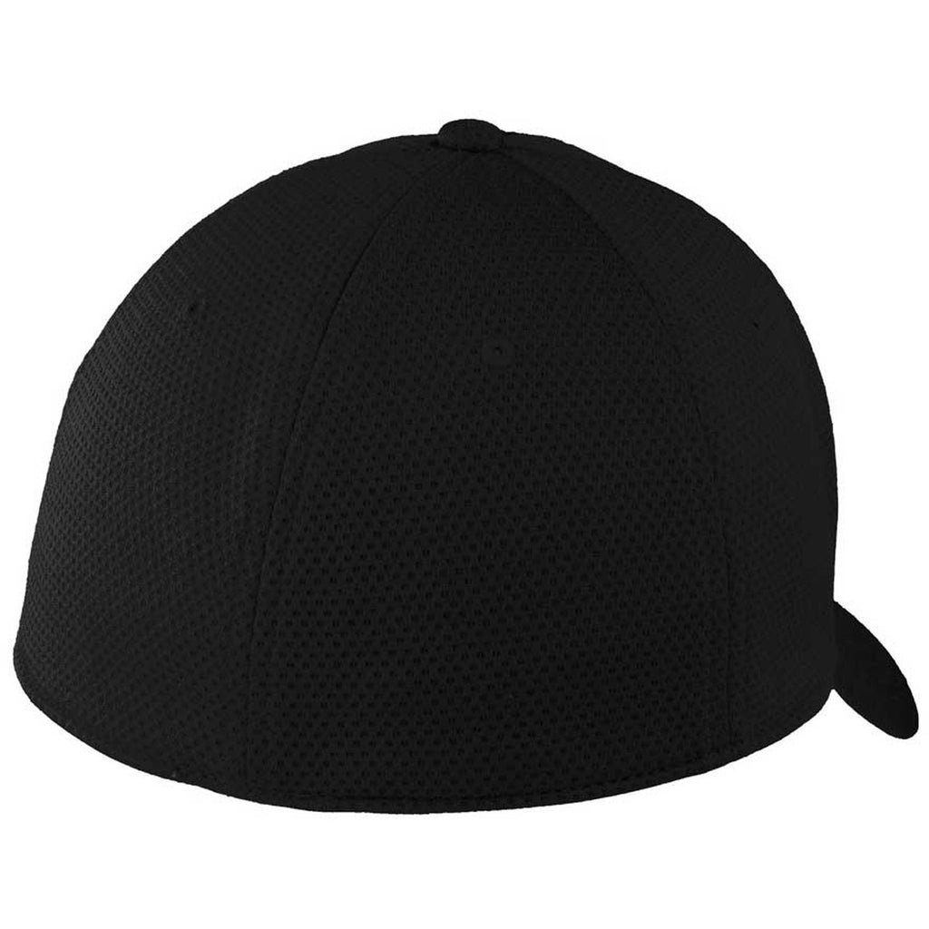 New Era 39THIRTY Tech Black Mesh Cap