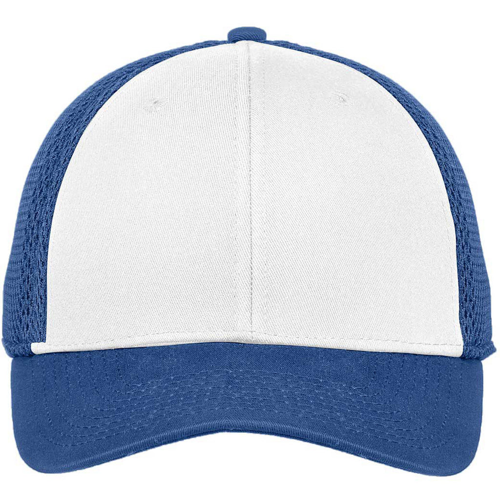 ad3e41934 New Era 9FORTY White/Royal Snapback Contrast Front Mesh Cap