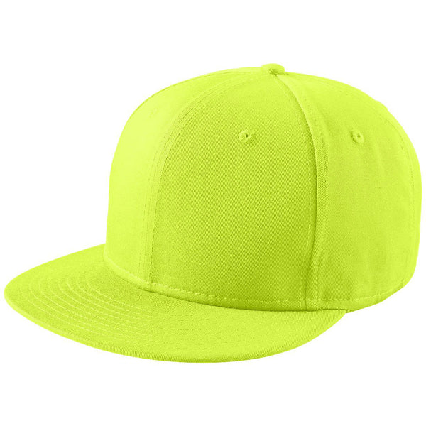 New Era 9FIFTY Cyber Green Flat Bill Snapback Cap 257618daa7ce