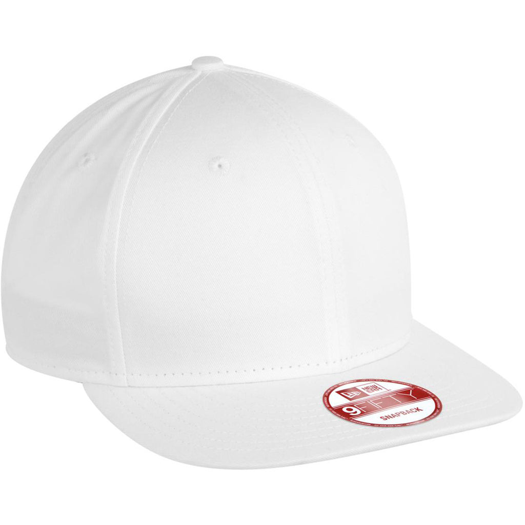 As low as  15.74 USD. New Era 9FIFTY White Flat Bill Snapback Cap 2c0927608c5b