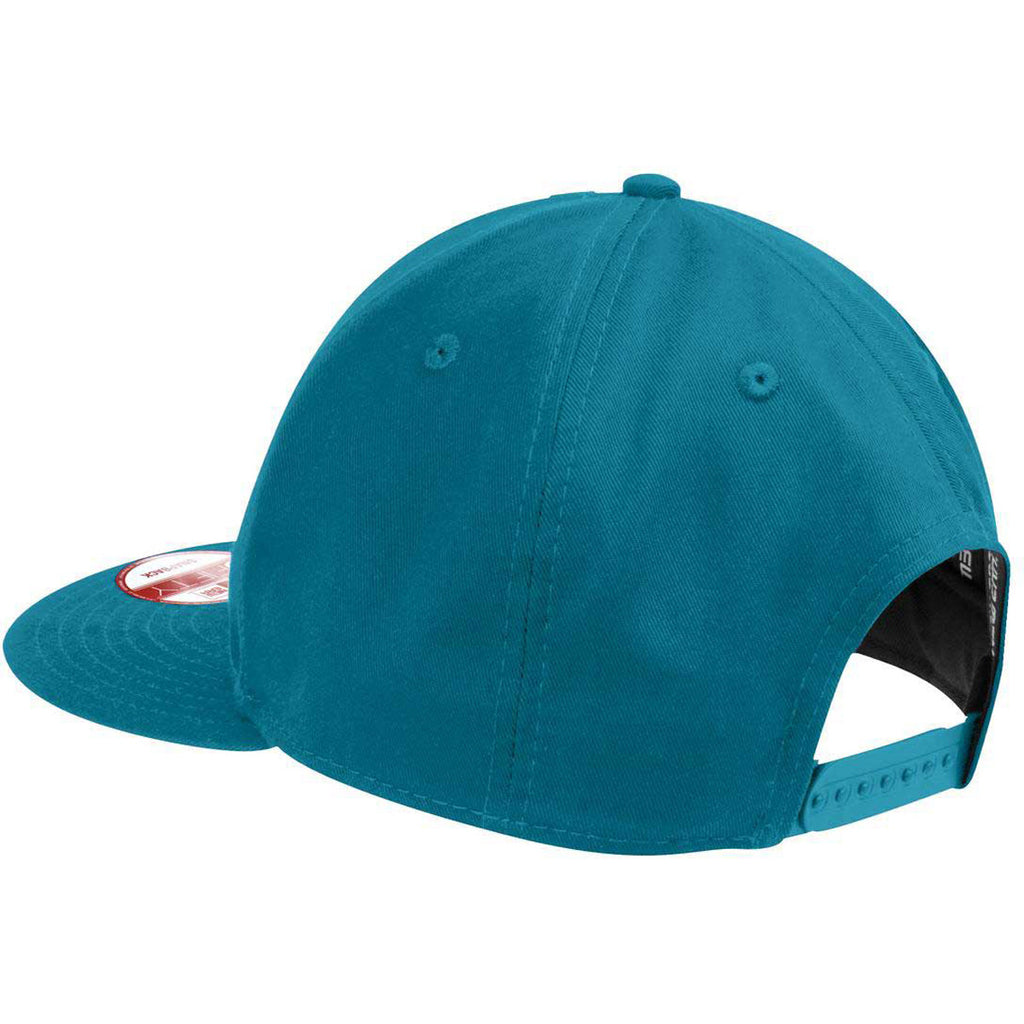 New Era Shark Teal Flat Bill Snapback Cap