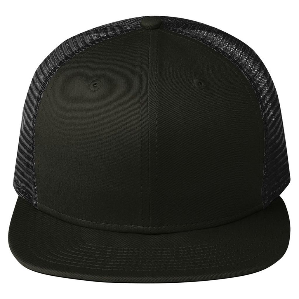 66688eebff3f0 New Era Black Original Fit Snapback Trucker Cap