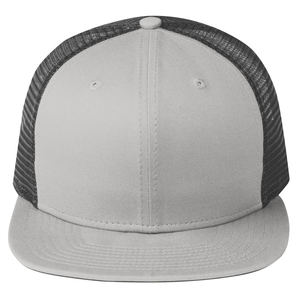 af2d2a8242f06 New Era Grey/Graphite Original Fit Snapback Trucker Cap