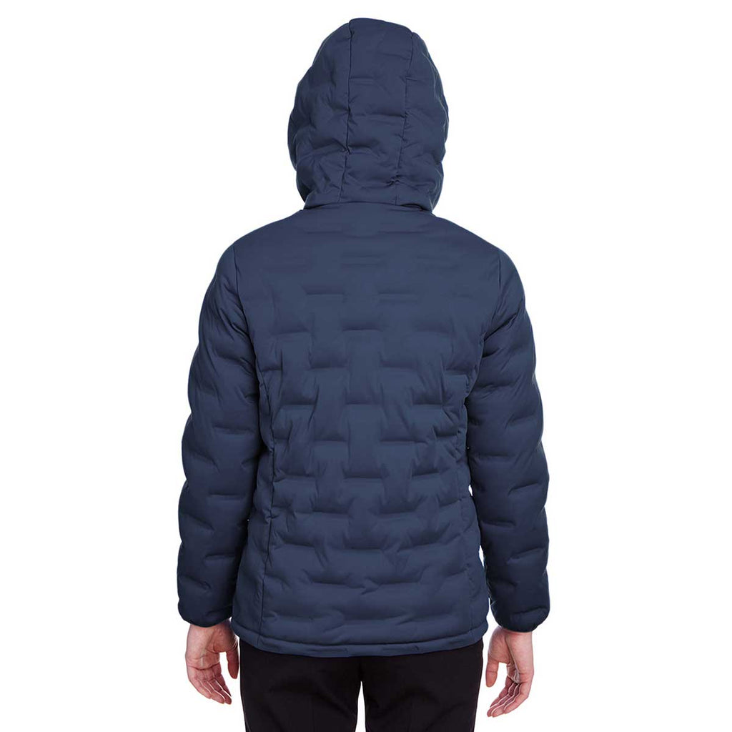 North End Women's Classic Navy/Carbon Loft Puffer Jacket