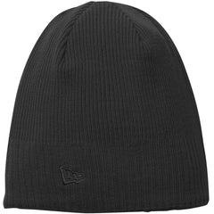 New Era Black Knit Beanie e1f23172160