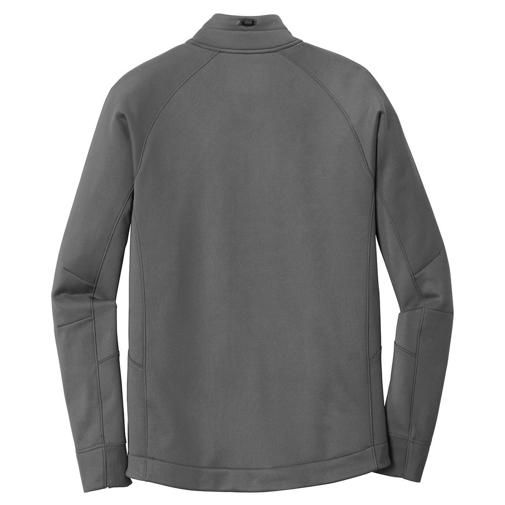 New Era Men's Graphite Venue Fleece 1/4-Zip Pullover