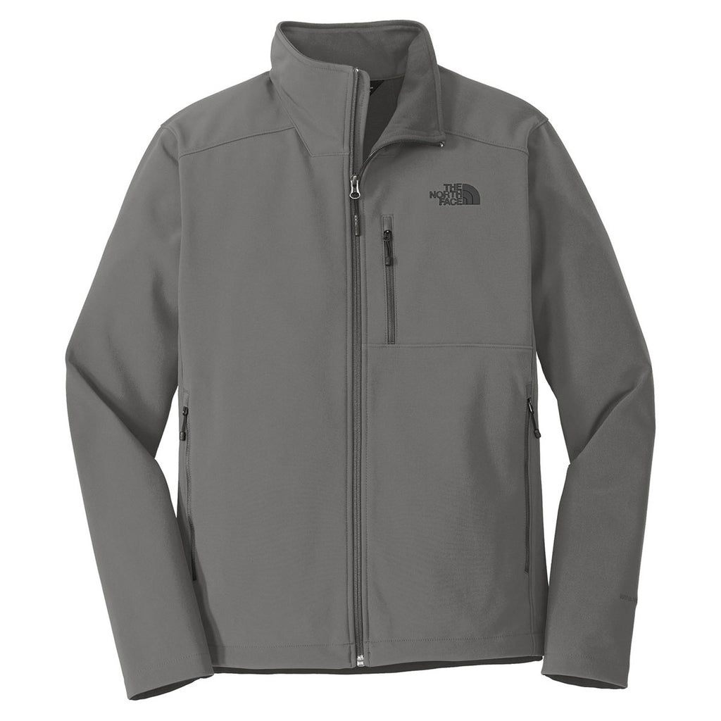 a5f30698f55d The North Face Men s Asphalt Grey Apex Barrier Soft Shell Jacket. ADD YOUR  LOGO
