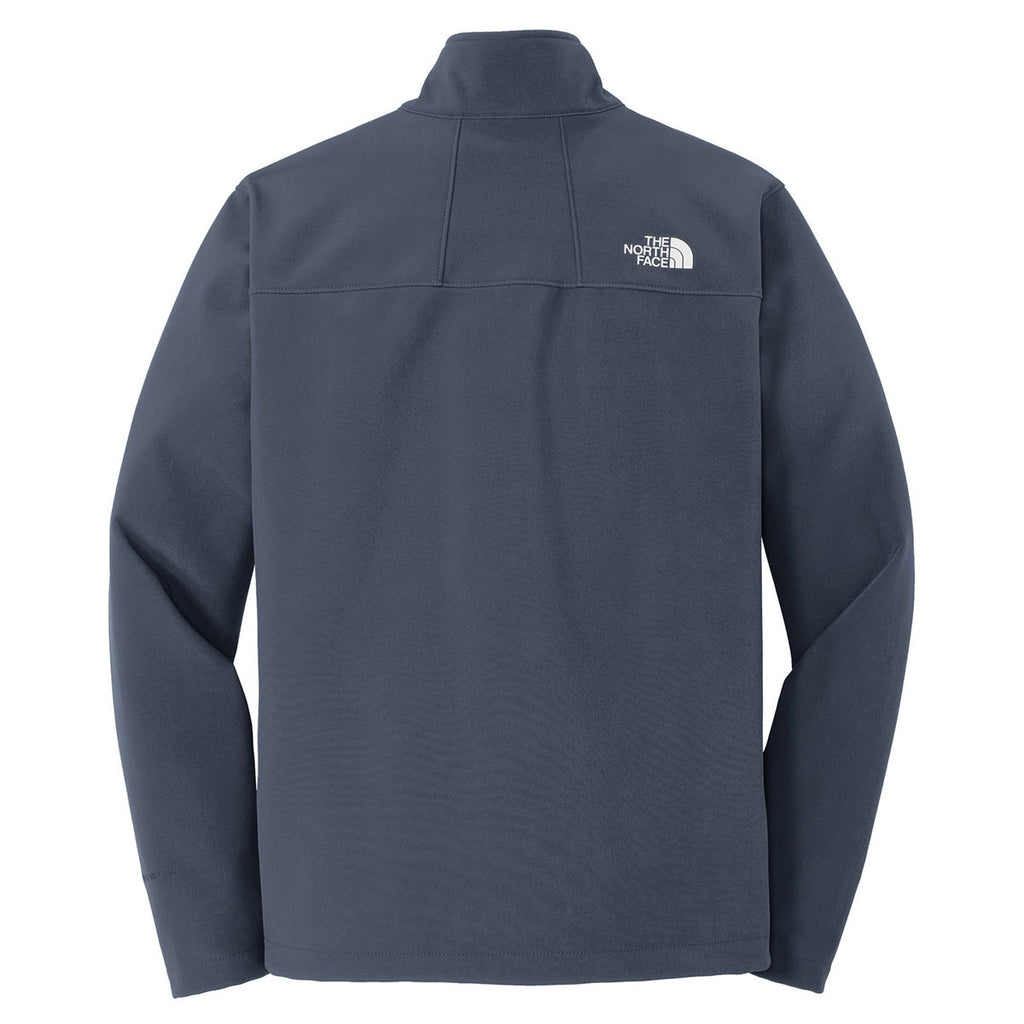 413c3d830a87 The North Face Men's Urban Navy Apex Barrier Soft Shell Jacket