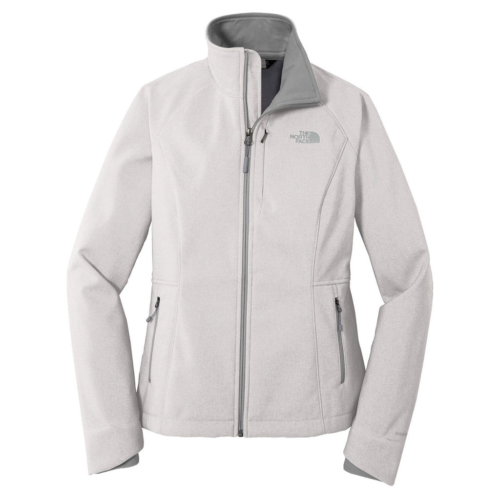 14296c2900e The North Face Women s Light Grey Heather Apex Barrier Soft Shell Jacket.  ADD YOUR LOGO