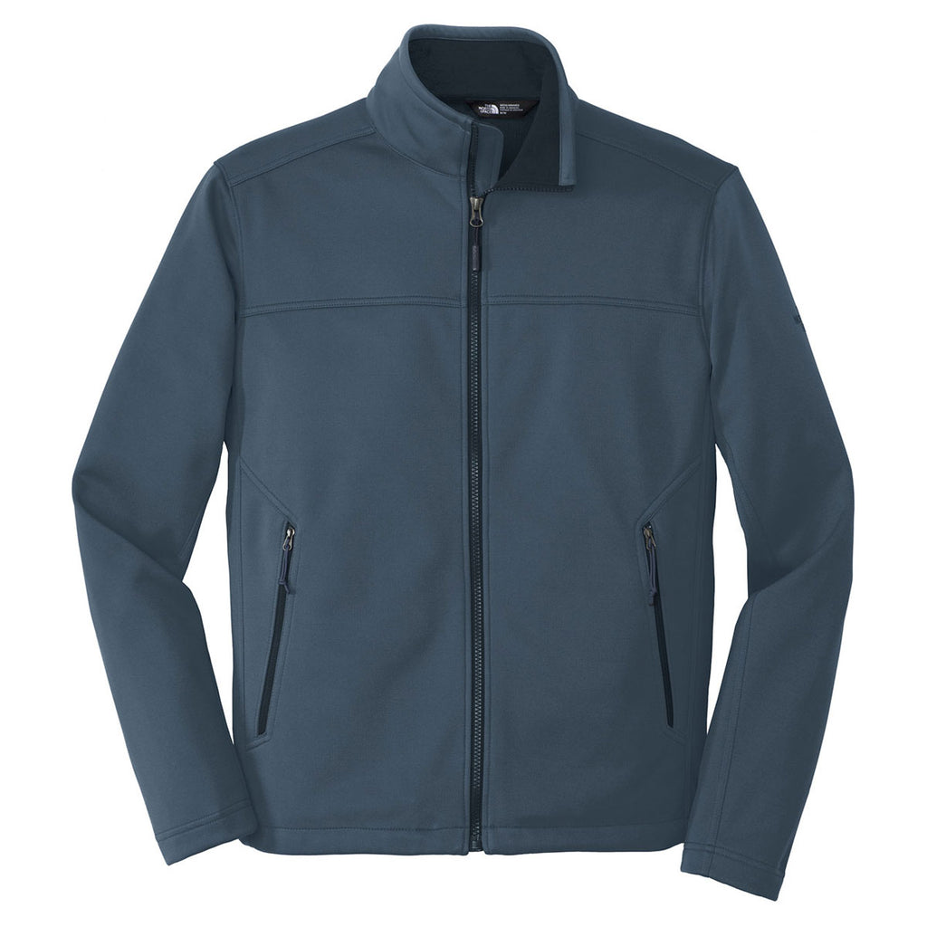 8d53f3d5ef36 The North Face Men s Shady Blue Ridgeline Soft Shell Jacket. ADD YOUR LOGO