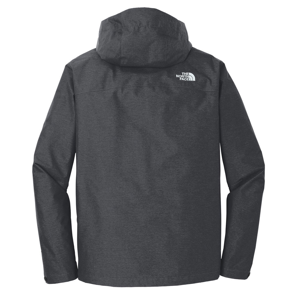 68b3c68ae The North Face Men's Dark Grey Heather Dryvent Rain Jacket