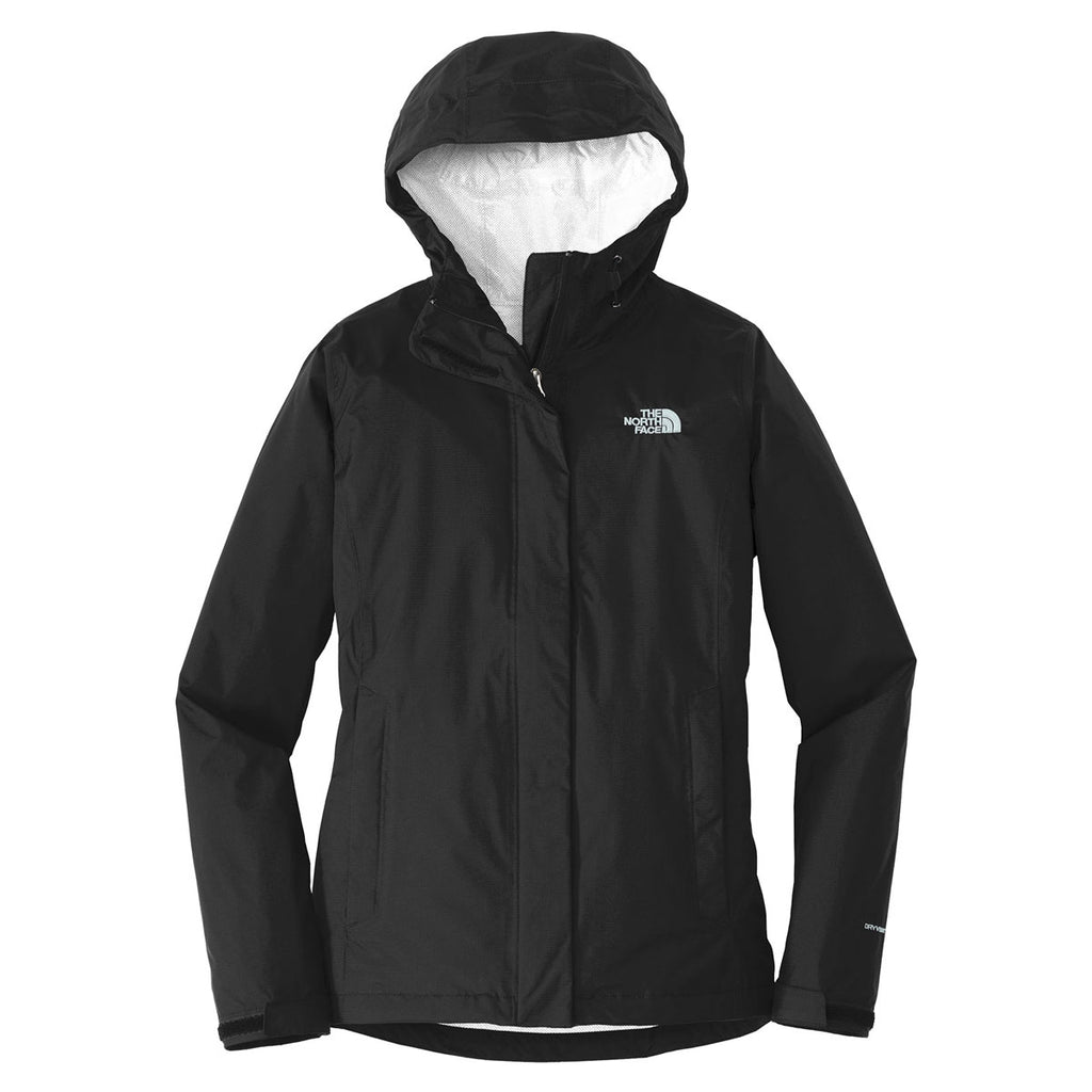 1148224af5 The North Face Women s Black Dryvent Rain Jacket