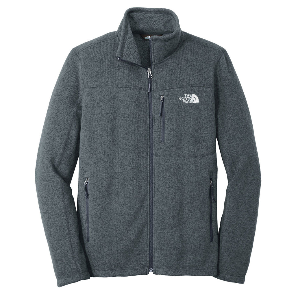 aa5b32416 The North Face Men's Urban Navy Heather Sweater Fleece Jacket